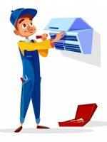 air-conditioner-repair-repairman-with-tools